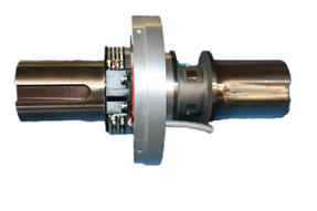 In-line keyed shaft rotating/rotary torque sensor