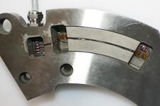 Strain gauged part